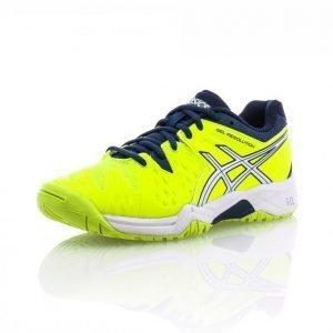 Asics Gel Resolution 6 Gs Tenniskengät Keltainen