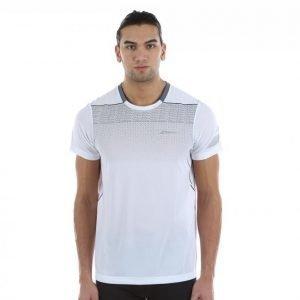 Babolat T-Shirt Crew-Neck Performance Tennispaita Valkoinen