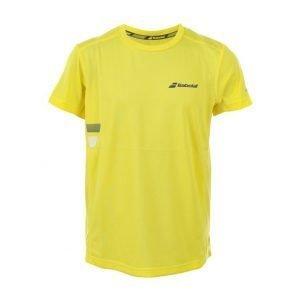Babolat T-Shirt Flag Tennispaita Keltainen