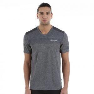Babolat T-Shirt V-Neck Performance Tennispaita Harmaa