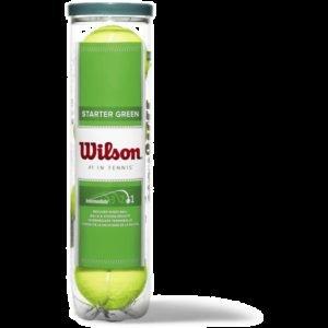 Wilson Starter Play Ball Tennispallo 4-Pakkaus