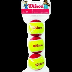 Wilson Starter Red Tennispallo 3-Pakkaus